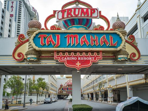 The now-closed Trump Taj Mahal casino resort in Atlantic City, N.J., was repeatedly cited by federal officials for having inadequate money-laundering controls.