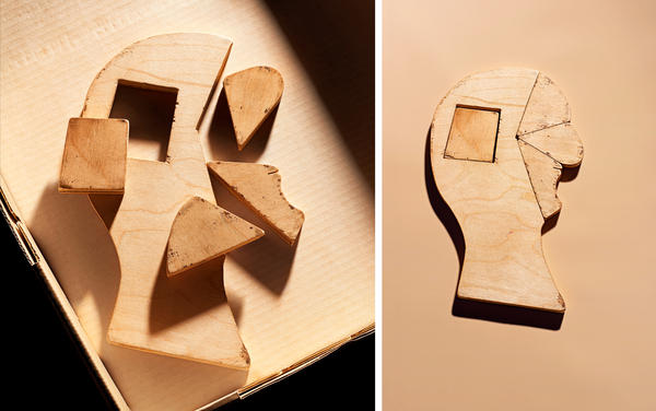 A wooden puzzle in the silhouette of a human head might look fun if the stakes weren't so high. A doctor named Howard Knox invented The Feature Profile Test — the formal name for this puzzle —after officials struggled to administer IQ tests to immigrants because of issues with language and literacy.