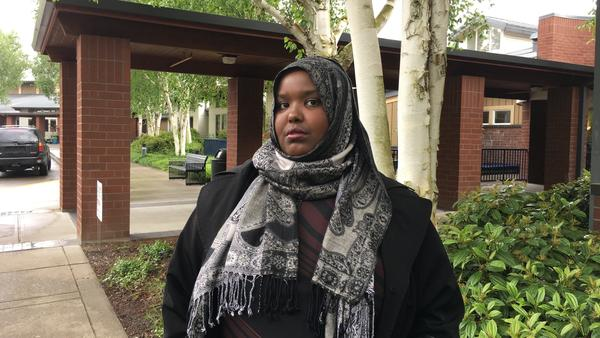 Juweiya Ali is fighting to bring her 7-year-old son to the U.S. from Somalia. Her latest battle is a lawsuit against President Trump's travel ban.