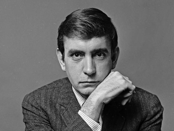 Pulitzer Prize-winning playwright Edward Albee in 1965.