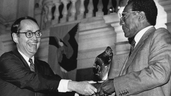Bill Cosby was presented the Distinguished Pennsylvania Artist award in 1984.