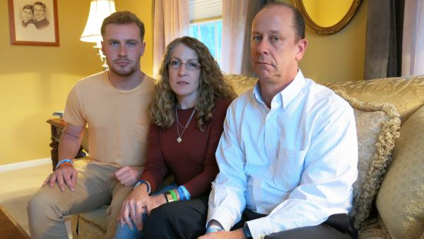 Penn State student Timothy Piazza died after being put through a fraternity hazing ritual. His brother Michael, mother Evelyn and father James hope his death sparks some change at the university.