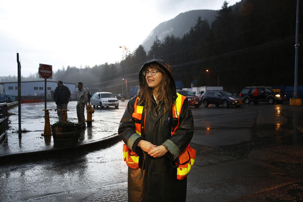 Mary Dahle, the purser for the MV LeConte, started working on the ferries in 1981, a job that allowed her to put herself through college.