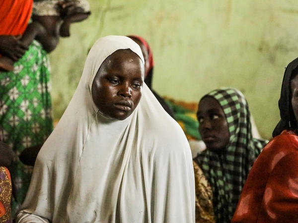 Uwani Musa Dure, 25, is one of the scores of mostly women and children who fled Gwoza and have recently returned. She now lives at a settlement for the displaced — and is searching for family members abducted by Boko Haram.
