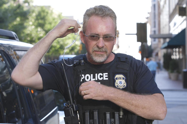"""ICE Officer Gerry Hutt insists that the agency does not conduct sweeps or roundups. """"We don't do raids. We do targeted enforcement operations,"""" he says."""