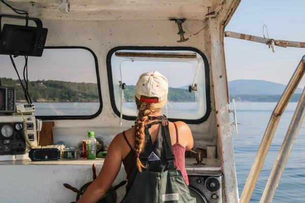 Maine's lobster fleet has a growing number of women who, like Sadie Samuels, are running their own boats, and busting stereotypes along the way.