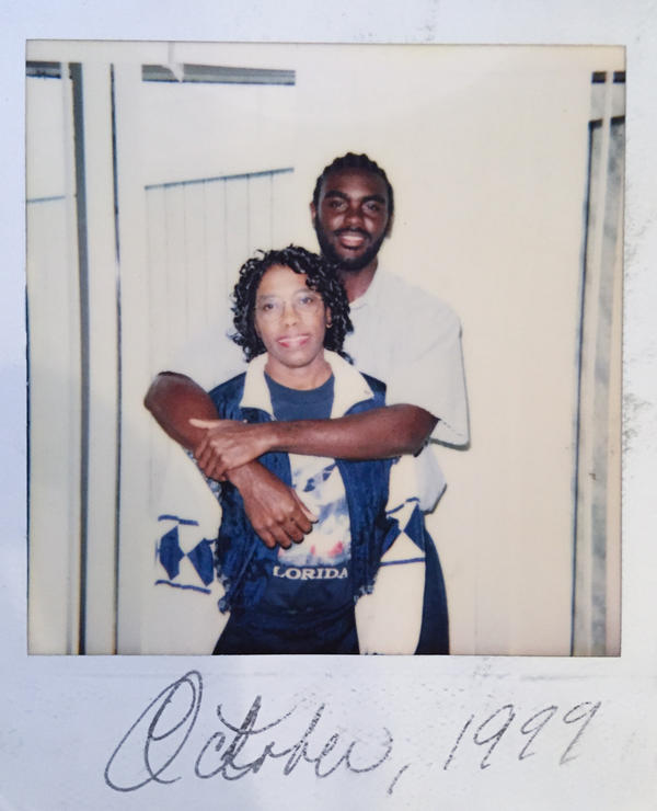 When Marcus Bullock went to prison in 1997, he was 15. His mother, Sylvia, wrote to him frequently for the eight years he was there and visited him. Here they are during one of those visits.