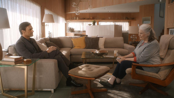 In <em>Marjorie Prime</em>, Lois Smith plays an elderly woman who finds companionship with a hologram of her late husband (Jon Hamm).