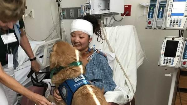 Fellow concertgoers helped get Elle Gargano over the fence and out of the festival grounds after she was wounded last Sunday.