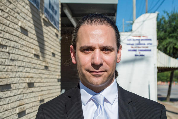 Khraish Khraish, a landlord who owned more than 300 homes in West Dallas.