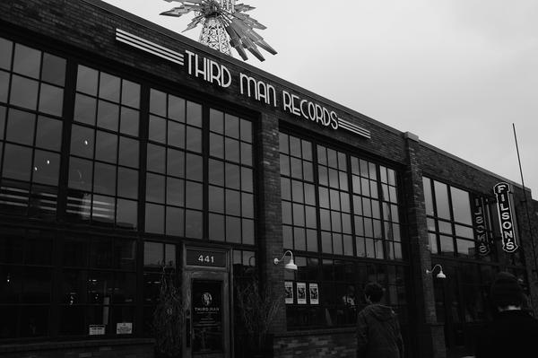 We had to visit Third Man Records when we were in Detroit. What an amazing place!