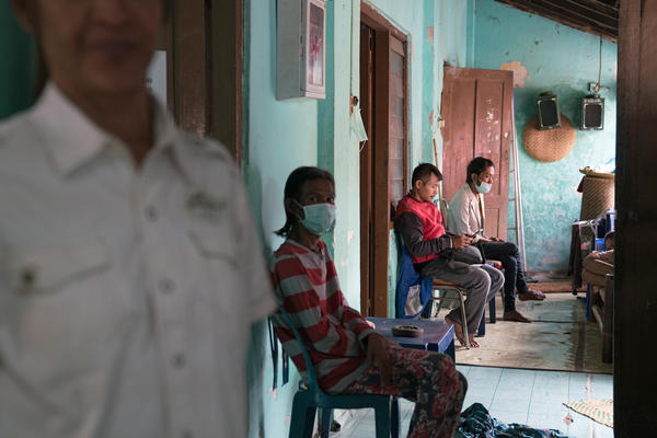 The residents of Kebaya, a group home for people with HIV, include some who are part of the waria community.