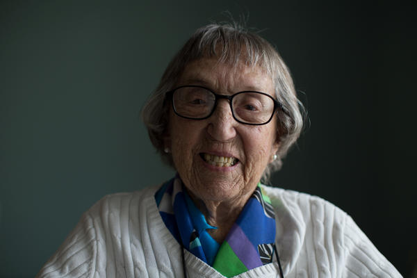 Catharine Deitch spent a year serving in Calcutta, India, with the Women's Army Corps.