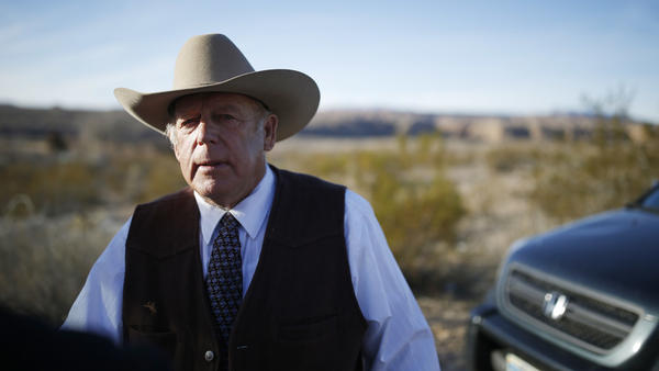 Cliven Bundy, his two sons and another militiaman are accused of assaulting federal officers when the government tried to remove Bundy's cows that were grazing on U.S. public land without permits.