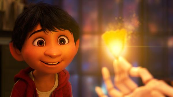 Anthony Gonzalez voices Miguel in <em>Coco.</em>