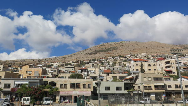 The village of Majdal Shams.