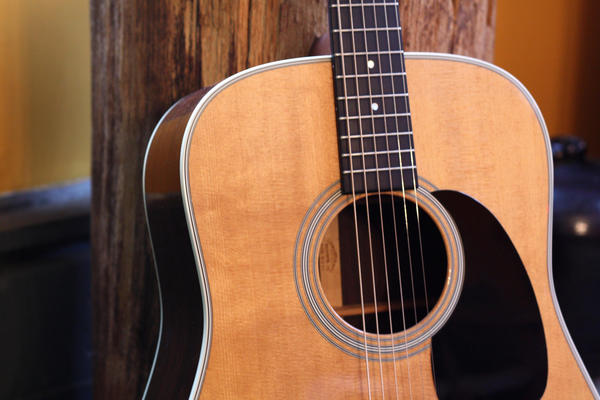 A Martin D-28 guitar. Regulations on the international trade of rosewood have negatively affected C.F. Martin & Co., a family-owned business that has been making guitars in Pennsylvania's Lehigh Valley since the 1830s.
