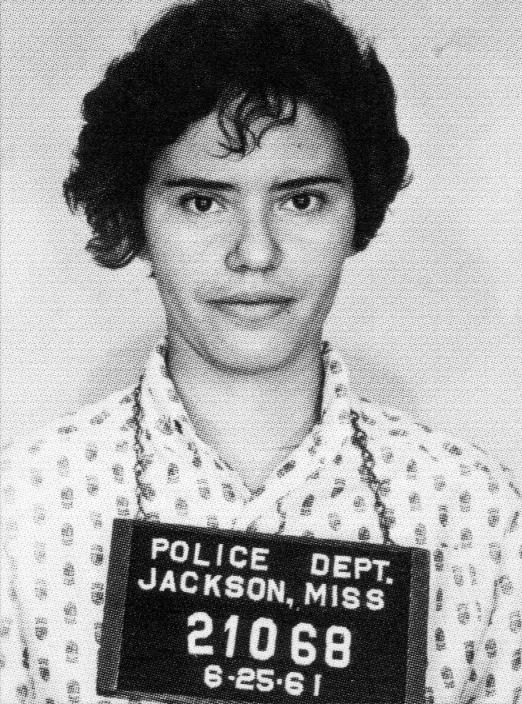 Mary Hamilton was arrested in Jackson, Miss., in 1961, along with other Freedom Riders.