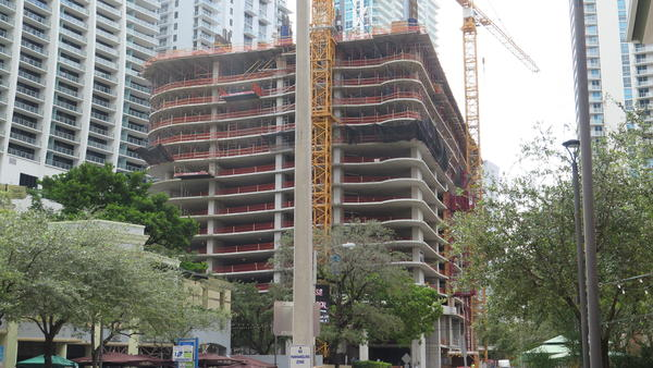 In Miami's urban core, there are some 20,000 condominium units in various stages of completion.
