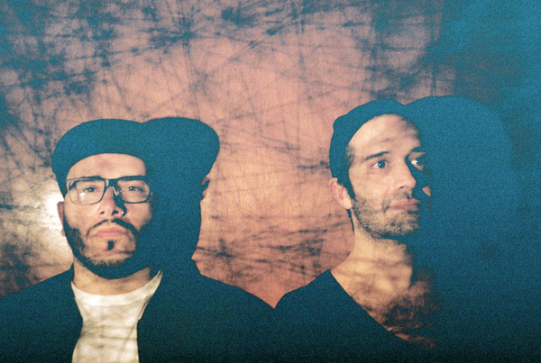 """We had certain adjectives that the two of us would discuss about the record: post-apocalyptic and urgent,"" Glassjaw guitarist Justin Beck (left) says of <em>Material Control</em>."
