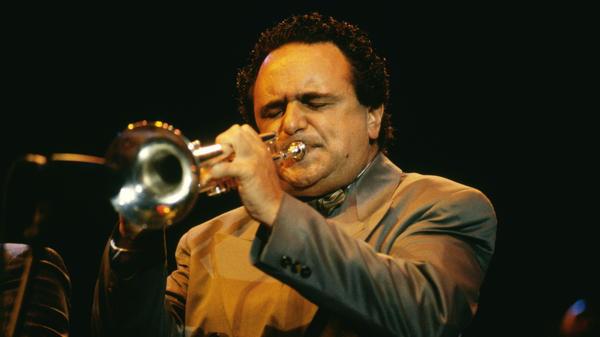 Claudio Roditi, photographed in 1990.