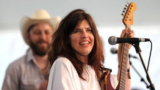 Victoria Williams performs during Stagecoach: California's Country Music Festival in 2010. The singer continues to make music despite being diagnosed with MS more than 20 years ago.