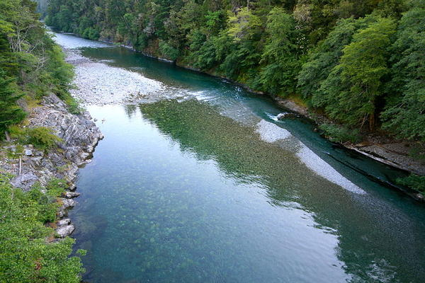 North Fork Smith River, one of the waterways opponents of a nickel mine proposal say would be endangered by the project.
