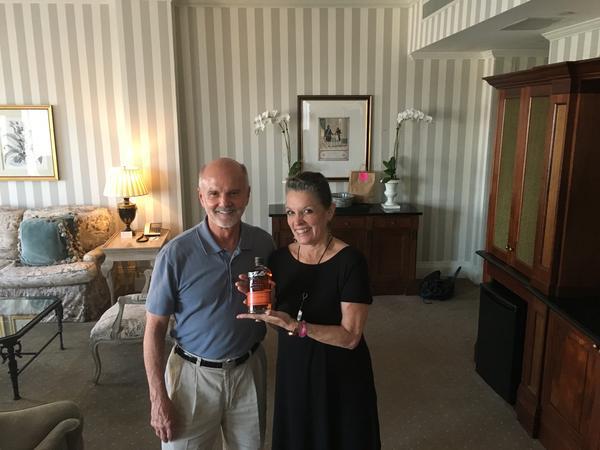 Host Poppy Tooker With Tom Bulleit