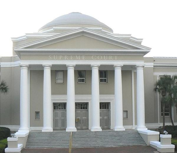 Florida's Supreme Court is pictured in Tallahassee.