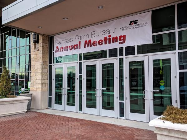 The Kansas Farm Bureau holds it's 99th annual meeting in Manhattan, Kansas