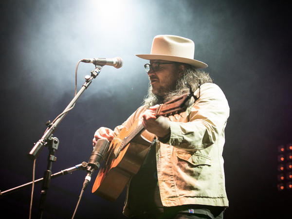Jeff Tweedy performs at NPR Music's 10th Anniversary Concert at the 9:30 Club in Washington, D.C.