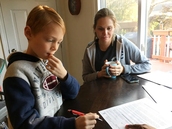 Michele Comisky of Vienna, Va., enrolled her 8-year-old son, Jackson, in a study to test the value of probiotics in preventing the gut distress often experienced when taking antibiotics.