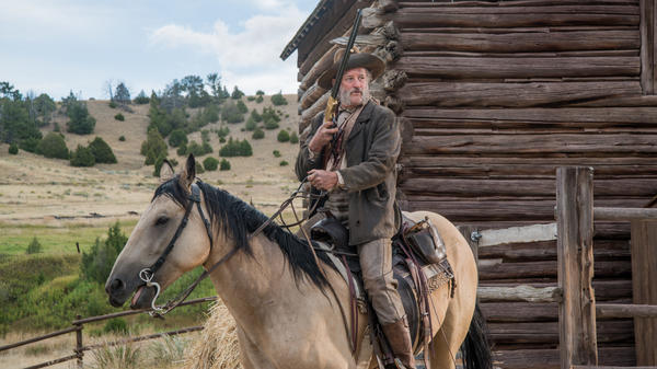 A sidekick (Bill Pullman) gets kicked upstairs in <em>The Ballad of Lefty Brown</em>.