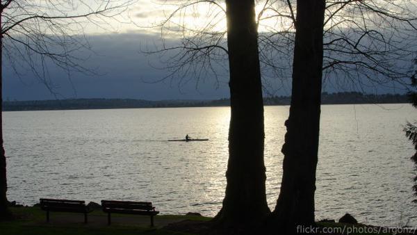 <p>Lake Washington.</p>