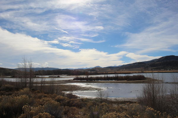 Windy Gap Reservoir, a shallow lake near Granby, Colorado, sits at the center of a dispute among envionrmentalists on the best way forward on Western water projects.