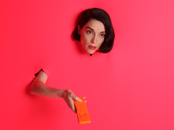 St. Vincent's <em>Masseduction</em> was one of Talia Schlanger's favorite albums this year.