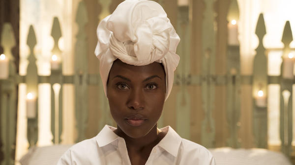 "DeWanda Wise plays Nola, a self-described ""sex-positive, polyamorous, pansexual,"" in the Neflix series <em>She's Gotta Have It</em>."