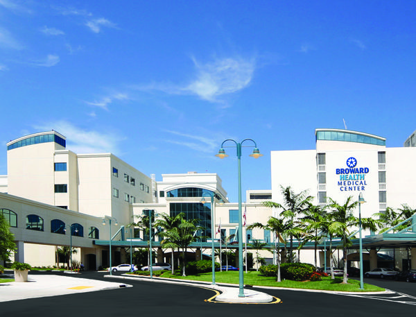 Broward Health Medical Center operates five public hospitals in Broward County.