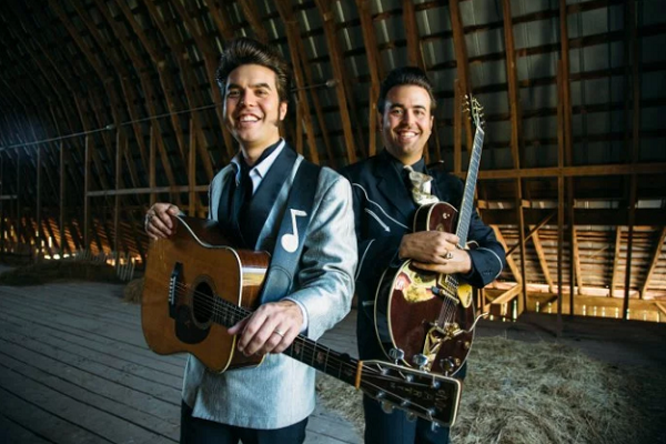 Christopher and Taylor Malpass have an old-school sound and vintage appeal.