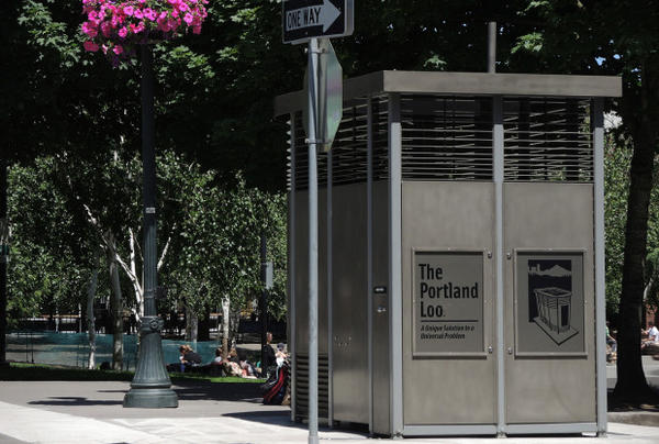 <p>The Portland Loo at Jamison Square.</p>