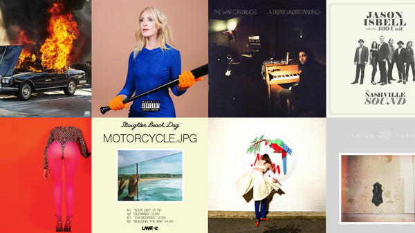 Some of the albums featured on World Cafe's Best of 2017 Playlist.
