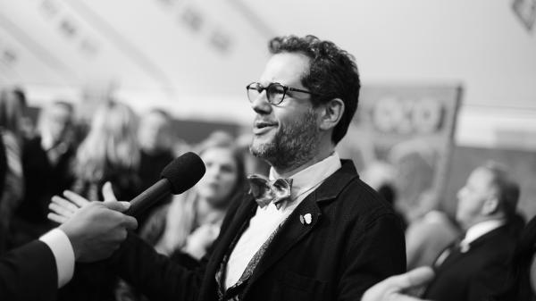 Composer Michael Giacchino at the U.S. premiere <em>Coco</em>. Four of Giacchino's scores have been shortlisted for Oscar nominations this year —  <em>The Book Of Henry, Coco, Spider-Man Homecoming </em>and <em>War for the Planet of the Apes</em>.