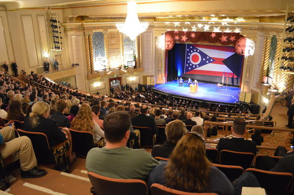 Gov. John Kasich delivered his seventh State of the State speech in the Sandusky State Theatre in Sandusky in April.