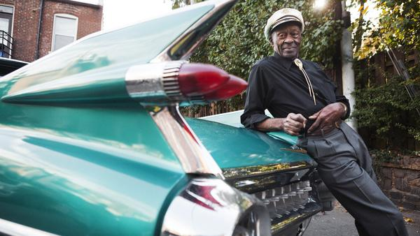 Chuck Berry, the subject of discussion in this session with his son Charles Berry Jr.