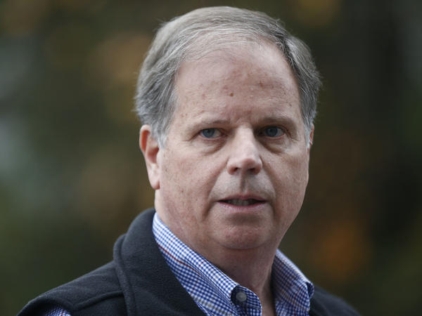 """I think the Alabama election ... it wasn't about me. It was never about me,"" Jones said early Friday."