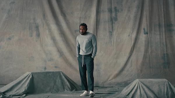 """Kendrick Lamar in the video for """"LOVE."""""""
