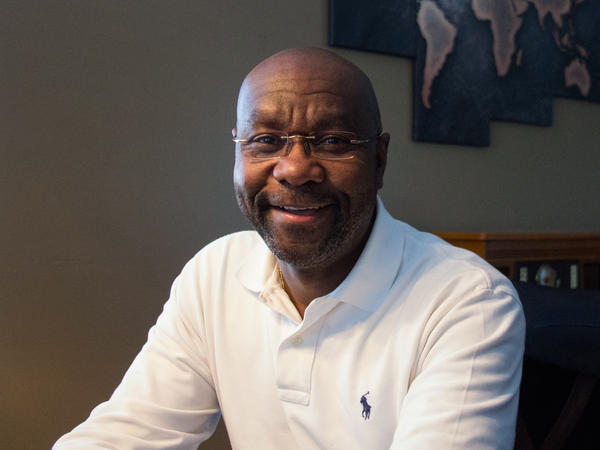 """Wilmot Collins, the next mayor of Helena, Mont., came to the U.S. as a refugee during Liberia's civil war. Refugees are """"not bloodsuckers,"""" he says. """"We are not just here to consume the resources. We provide for the economy."""""""
