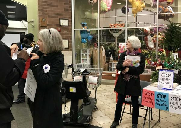The League of Women Voters and other citizen's groups are half way to the more than 300,000 signatures they need to get the redistricting issue on the November ballot. But state lawmakers may beat them to it by getting an issue on the February ballot.