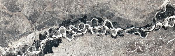 Selemdzhinsky District, Amur Oblast, Russia as seen from Pod-1
