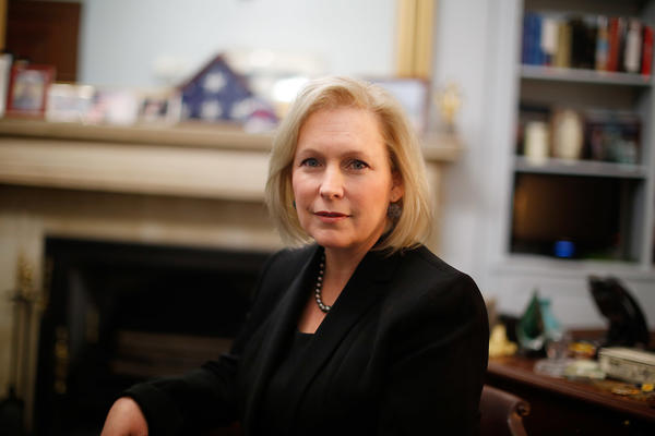 Sen. Gillibrand, D-N.Y., has increased her stature in the Democratic Party in recent years, though deflects the question of whether she will run for president in 2020.